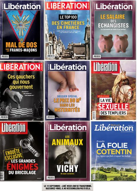 """Fabrice Rousselot: """"Libération n'a pas les moyens de ses concurrents, mais on a des idées""""   DocPresseESJ   Scoop.it"""