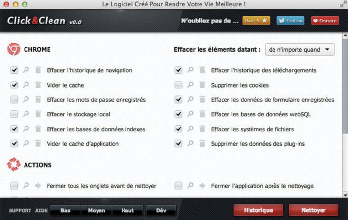 Click&Clean : une extension pour nettoyer Firefox et Chrome   TIC et TICE mais... en français   Scoop.it