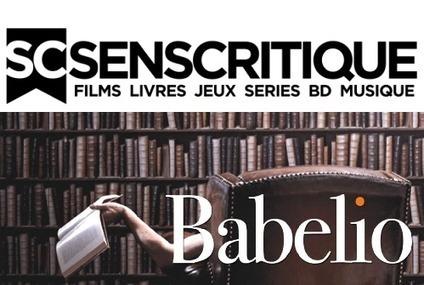SensCritique et Babelio : comment la lecture sociale évolue-t-elle ? - InaGlobal.fr | Edition - Musique - Cinéma - Jeu Vidéo | Scoop.it