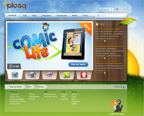 Best Practices For Web Design For Kids | Smashing Magazine | Digital Literacy in the 21st Century | Scoop.it