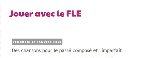 Jouer avec le FLE: Des chansons pour le passé composé et l'imparfait | Remue-méninges FLE | Scoop.it