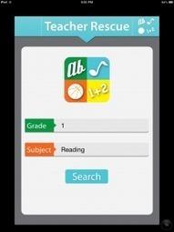 Teacher Rescue | Cool Tools for Teachers | Scoop.it