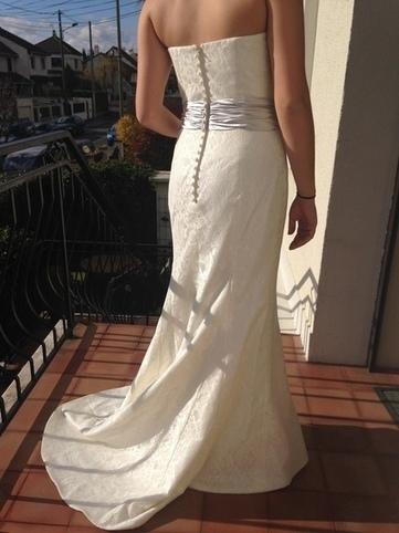 Robe de mariée bustier en dentelle Pronuptia taille 38 - Val de Marne | Robes de mariée d'occasion | Scoop.it