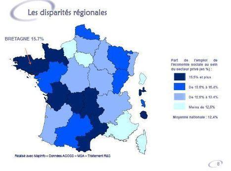 L'emploi dans l'économie sociale et solidaire en Bretagne | Bretagne en transition | Scoop.it