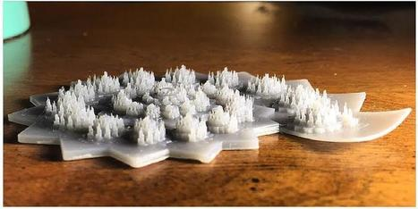 College Student Designs and 3D Prints Amazing Fractal on a Form 1+ 3D Printer | 3d printers and 3d scanners | Scoop.it