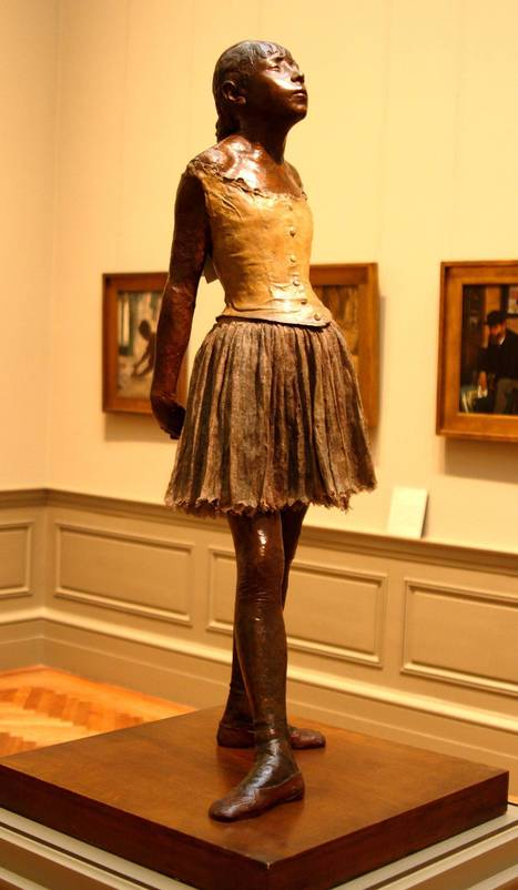 Little Dancer by Edgar Degas: What Makes Her Different and Loved by All | Architecture and Sculptures | Scoop.it