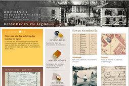 Venez tester le nouveau site des Archives des Landes !   GénéInfos   L'écho d'antan   Scoop.it