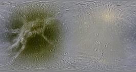 Así es Dione, luna helada de Saturno | Universo y Física Cuántica | Scoop.it