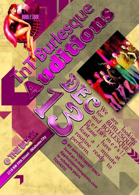 TnT Burlesque - Your Oklahoma Sizzle | Celebrating Fabulosity: Pinup to Burlesque! | Scoop.it