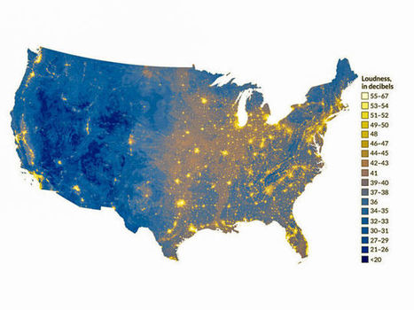 According To This Map, We Are The Loudest Americans In History - io9 | Environmental sounds | Scoop.it