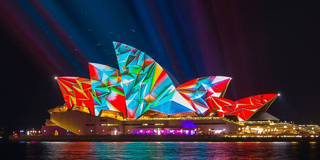 Light Turns Sydney's Buildings Into Dazzling Works Of Art In Annual Festival | 16s3d: Bestioles, opinions & pétitions | Scoop.it