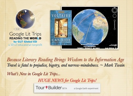 Tour Builder for Lit Trips | What They're Saying About Google Lit Trips | Scoop.it