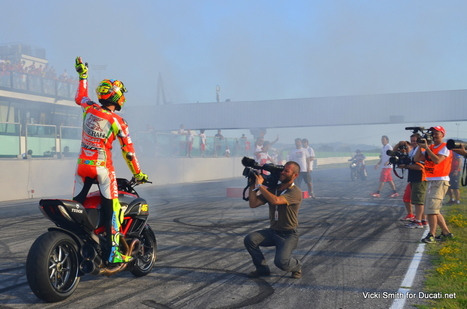 Countdown to World Ducati Week, 36 Days! - Looking back at Rossi, WDW2012 | Ductalk Ducati News | Scoop.it