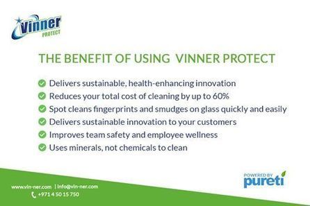 Vinner Clean Powered By PURETi has an    - Vinn