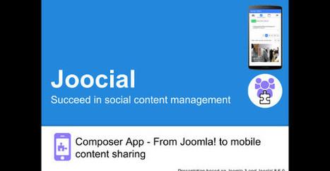 Joocial Composer App: From Joomla! to mobile content sharing #joomla   Joomla Community News   Scoop.it