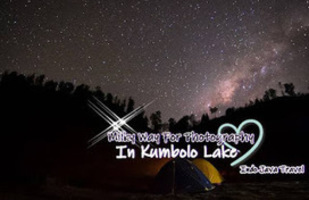 Milky Way For Photography In Kumbolo Lake Pak