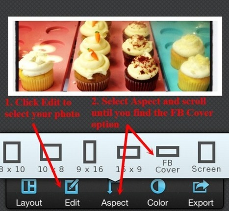 How to Make Images the Right Size for Your Facebook Cover Photo and Profile Photo   MarketingHits   Scoop.it