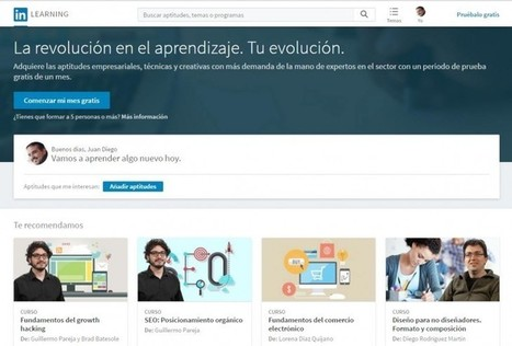 Ya disponible LinkedIn Learning en español | Diseño de proyectos - Disseny de projectes | Scoop.it