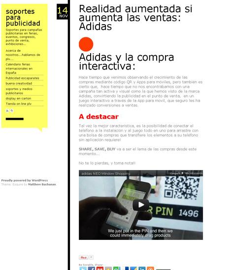 Aumenta ventas con la realidad aumentada | soportes para publicidad | Curiosidades de la Red | Scoop.it