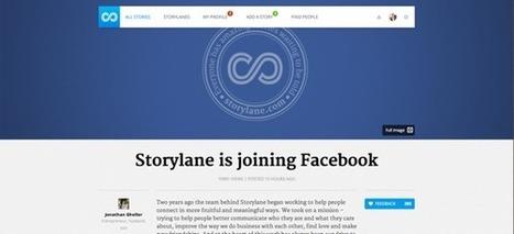 Facebook fait l'acquisition de Storylane pour s'attaquer à Tumblr | Ardesi - Web 2.0 | Scoop.it