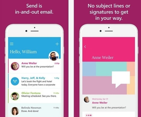 Messagerie - Microsoft lance 'Send', son app pour iPhone - ZDNet - ZDNet France | Apple, IMac and other Iproducts | Scoop.it