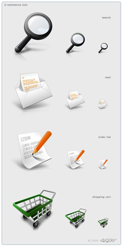 30 Sets of Free Ecommerce Icons | 7plusDezine | Web & Graphic Design | Scoop.it
