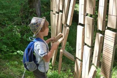 La piste à émotions réinvente le sentier pédagogique | Tourisme en Famille - Pistes à suivre | Scoop.it