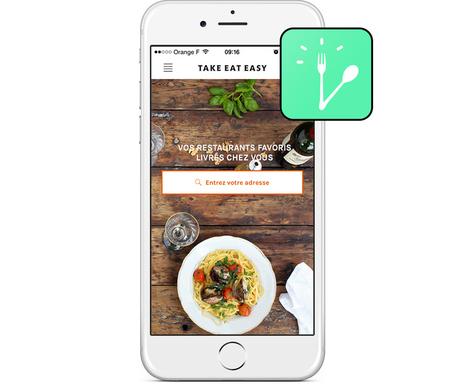 Minute Design #4 : Take Eat Easy - Idéine | Design - UX UI mobile | Scoop.it
