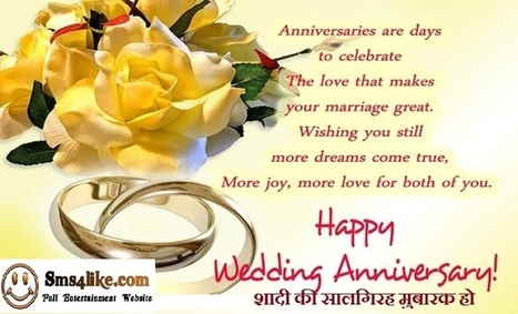 Wedding Anniversary Quotes For Friends In Engli
