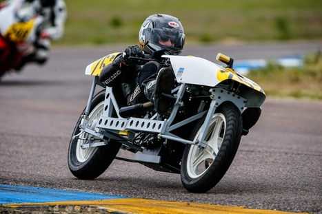 Homebuilt Recumbent Motorcycle Racer Competes in MRA Sanctioned Event | Rogermotard | Scoop.it