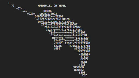 Discovering the hidden ASCII art in the pages of the web   ASCII Art   Scoop.it