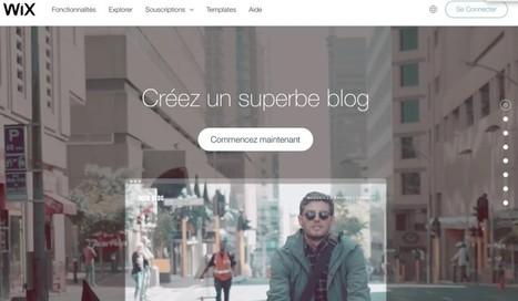 Wix. L'autre plateforme pour créer un blog - Les Outils du Web | Ressources pour les TICE en primaire | Scoop.it