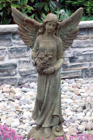"Massarelli's - 42"" Angel with Roses | Anchors Sales Company - Portfolio | Scoop.it"
