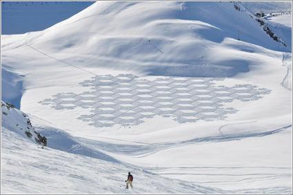 Simon Beck: arte matemático en la nieve a gran escala ... | TUL | Scoop.it