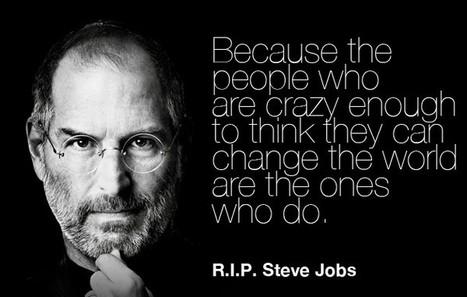 Steve Jobs in his own words | All Geeks | Scoop.it