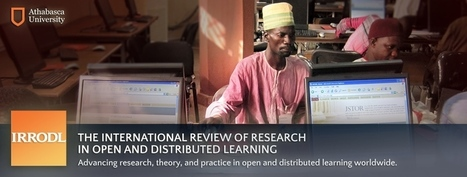 Supporting professional learning in a massive open online course | Milligan | The International Review of Research in Open and Distributed Learning | Open learning news | Scoop.it