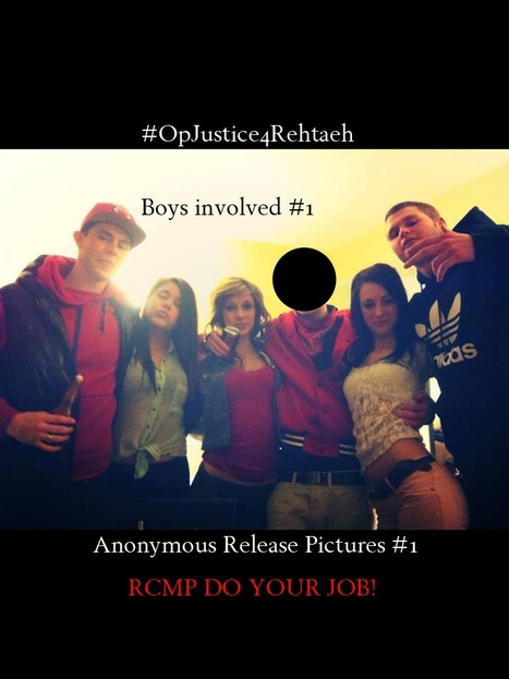 #OpJustice4Rehtaeh | Anonymous Canada News | Scoop.it