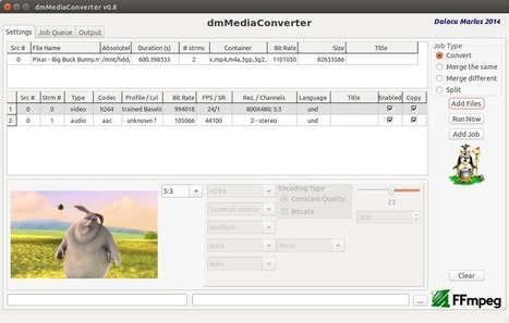 dmMediaConverter, another FFmpeg frontend with