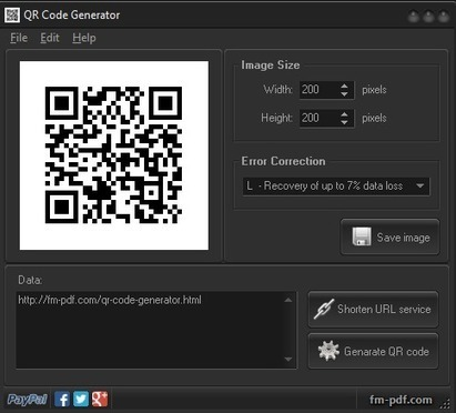 Programas para generar códigos QR | QR code readers, generators and news | Scoop.it