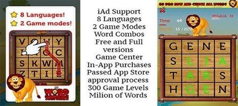 Word Slider iOS Game For iPad & iPhone | iOS - iPhone - App - Game - Reskin | Chupamobile | Mobile App Development | Scoop.it