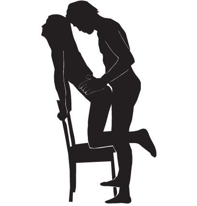 Sex positions in chair