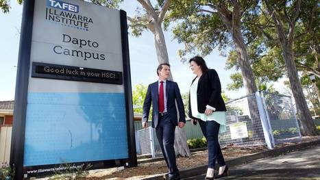 No answers on future of Dapto TAFE courses | TAFE Campaign | Scoop.it