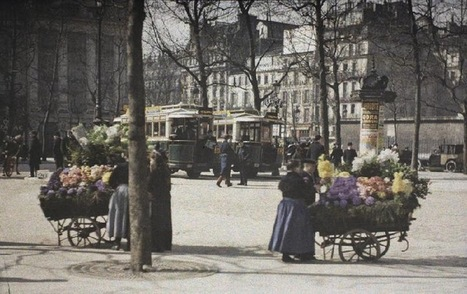 PARIS UNPLUGGED: 1907 - Les Autochromes - Paris en couleur | GenealoNet | Scoop.it