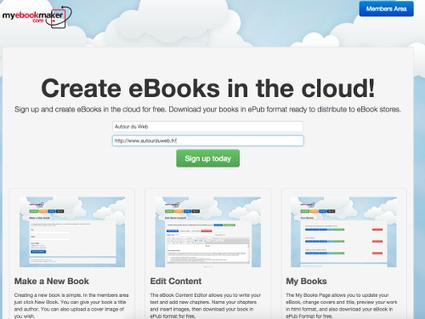 My Ebook Maker, créer un livre numérique en ligne et le télécharger en ePub | La Faim de l'Histoire | Scoop.it