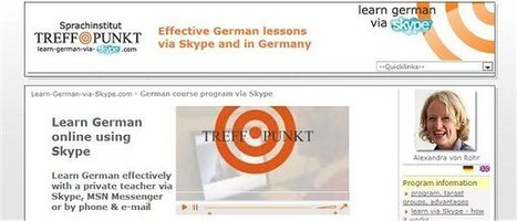 Free German Lessons A1 | learn German for free | German learning resources and ideas | Scoop.it