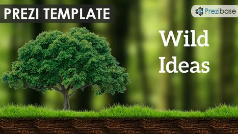 wild ideas prezi template | prezibase | prezi t, Powerpoint templates