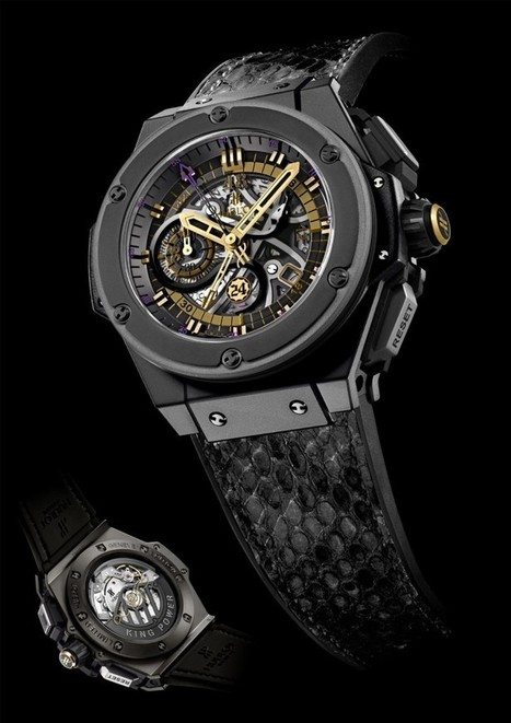 Hublot Announces King Power Black Mamba with Kobe Bryant | Raised By Lions | Mens Entertainment Guide | Scoop.it