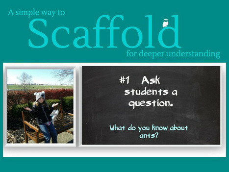9 Steps To Scaffold Learning For Improved Understanding   St. Patrick's Professional Learning Network   Scoop.it