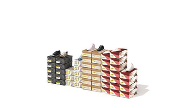 Boites de chaussures de magasin 3D | 3D Library | Scoop.it