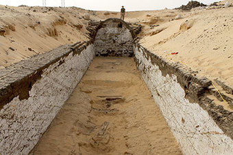 Scènes de navires découvertes dans le désert d'Abydos | Pharaon Magazine | Les déserts dans le monde | Scoop.it